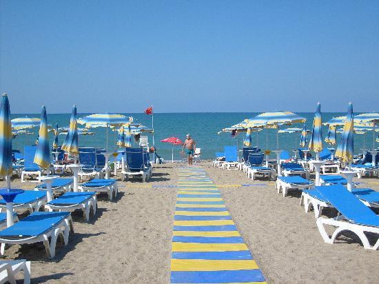 Hotel Club Costa Verde Hoteleigener Strand