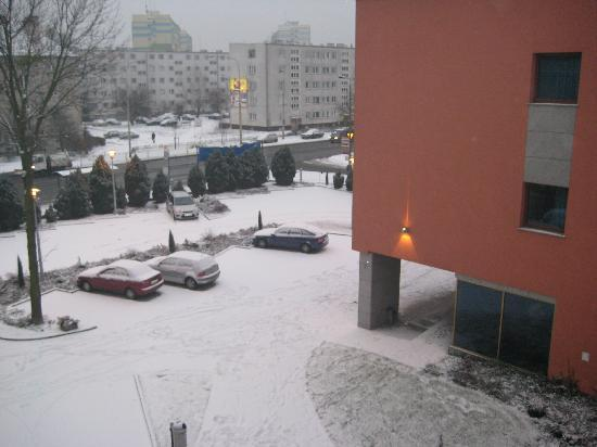 vista sul parcheggio Hotel VEGA