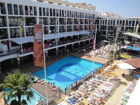 Ibiza Rocks Hotel Rooms