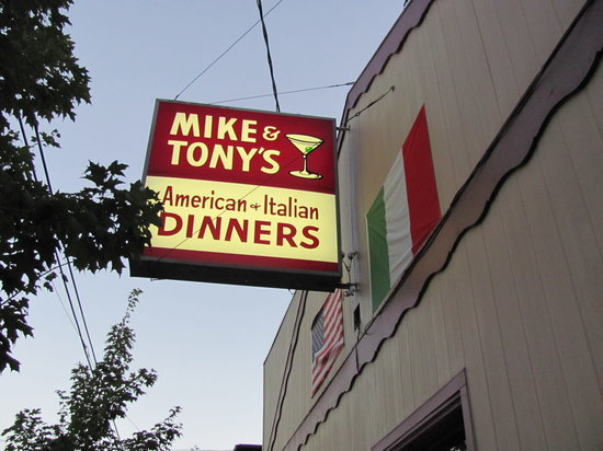 Mike and Tony's : Outside of bldg.
