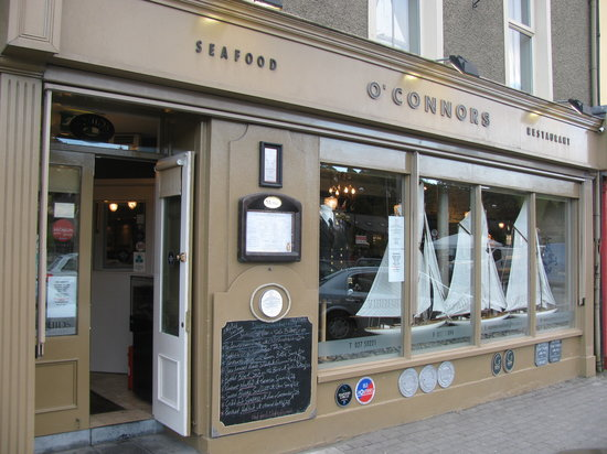 O'Connors Seafood Restaurant : Exterior