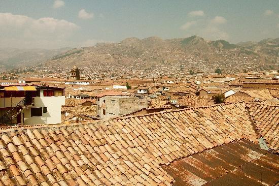 Hostal Monarca: View from third floor balcony