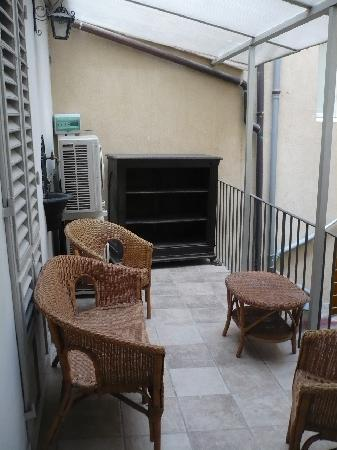 Accademia House: Terraza