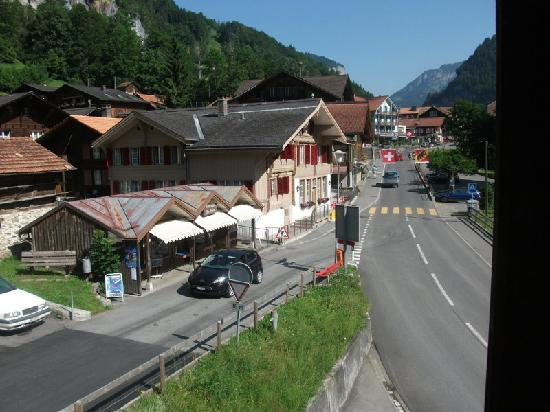Hotel Horner: Lauterbrunnen from accommodation