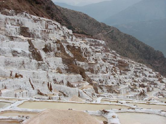 Hotel Torre Dorada: Minas de sal (da montanha)