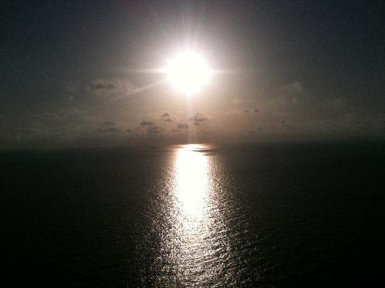 Sun Club Eldorado: coucher de soleil