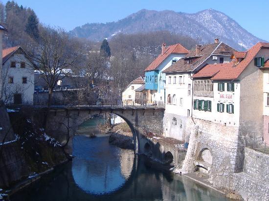 Skofja Loka, Slovenia: Hotel Garni Paleta - Riverside