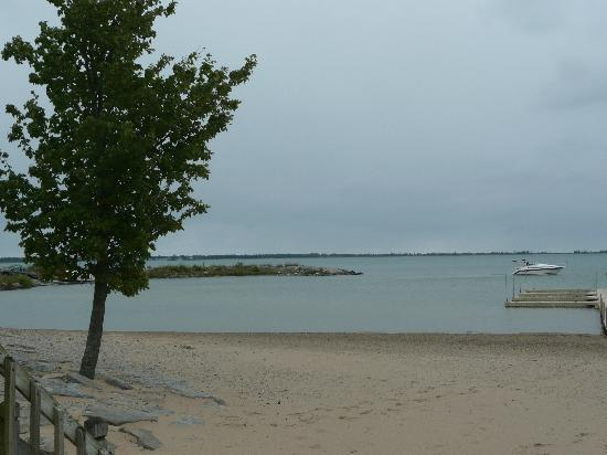 East Tawas, MI: view from our room