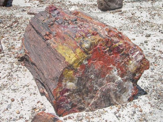 Black Forest: Von Eisenoxid rötlich gefärbtes Gestein