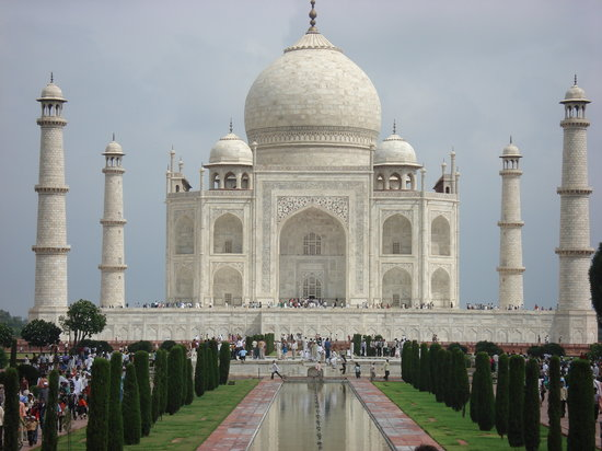Agra, Indien: Taj Mahal
