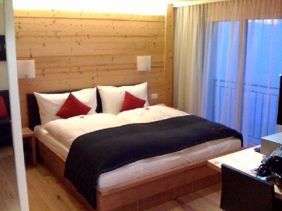 Riederalp, Sveits: Süsse Träume bescherte uns das super-bequeme Bett