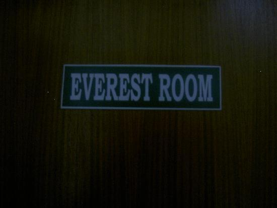 Asmita Bed & Breakfast: room name- gets you right into the nepali mountain feel!