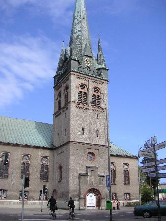 Swinemuende, Tyskland: Kirche in Swinemünde