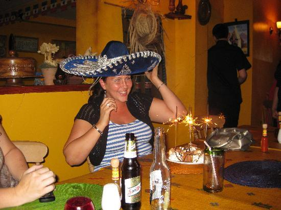 Jalisco Mexican Restaurant: Birthday