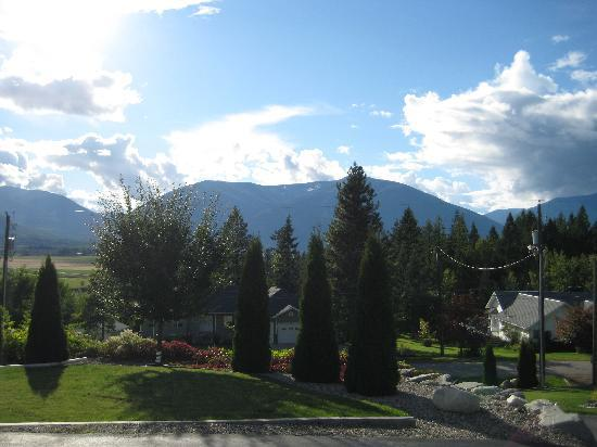 Creston, Canada: View from the patio