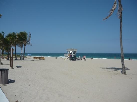 Fort Lauderdale, Floride : la spiaggia di FL