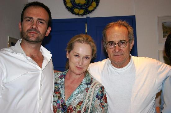 Glossa, Grecia: Merryl Streep