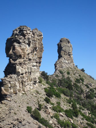 Chimney Rock National Monument: Chimney Rock