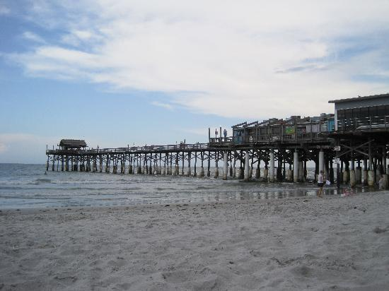 Location of cocoa beach pier pictures to pin on pinterest for Cocoa beach fishing pier
