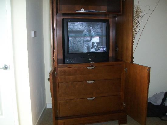 Sandestin, Φλόριντα: Armoir w TV DVD player & storage drawers