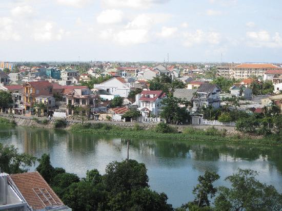 Vina Hotel Hue: Excellent landscape