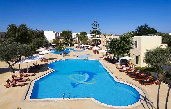 Sirios Village Hotel & Bungalows: Pool view