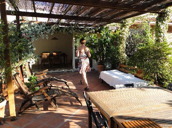 Annaluce Bed and Breakfast: Terrace