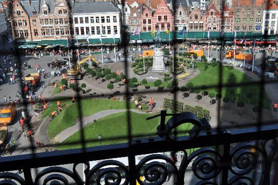 Nicky's Bed & Breakfast: From the bell tower in Brugge