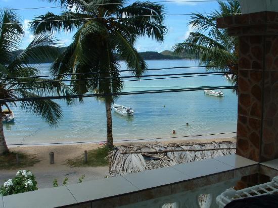 Ocean Bay Guest House: vue du balcon