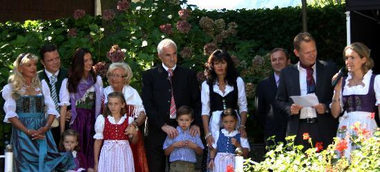 Romantikhotel Oberwirt: La famiglia Waldner