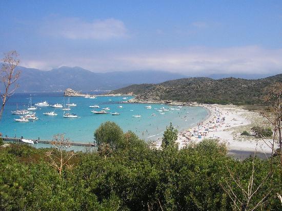 Les Calanche Cliffs : spiaggia di loto
