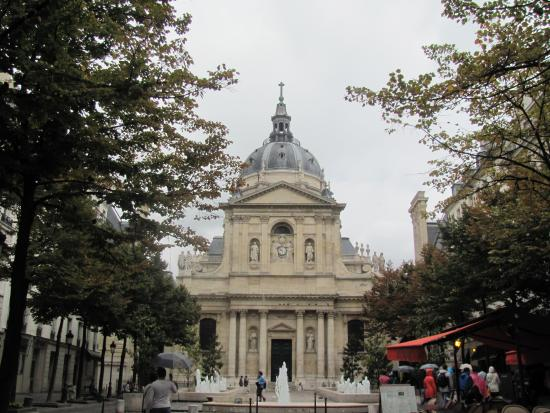 City Free Tour: One of many interesting places we stopped on Latin Quarter tour