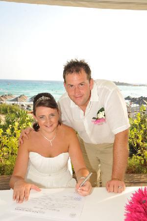 Nissi Beach Resort : Wedding day