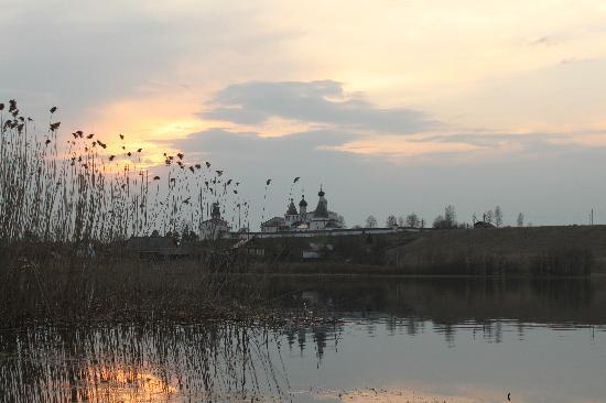 Vologda, Rusland: Ночной вид