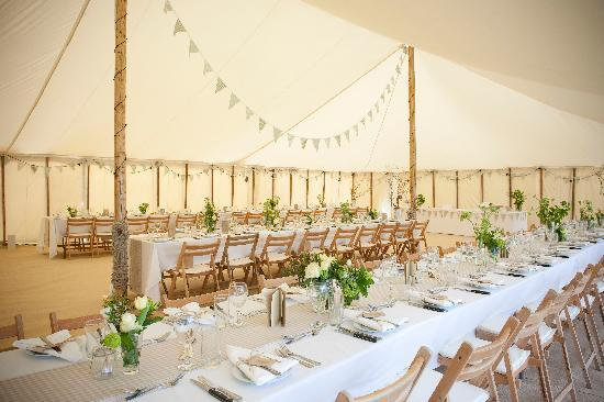 ‪‪Woodbridge‬, UK: The Wedding Marquee‬