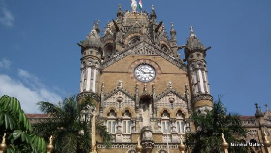 Mumbai, India: Another view of Victoria Terminus, now knoown as CST