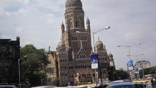 Mumbai (Bombay), India: The Municipal Corporation Building