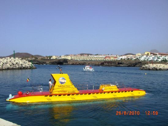 San Miguel de Abona, Spain: Das 7 Jahre alte U-Boot
