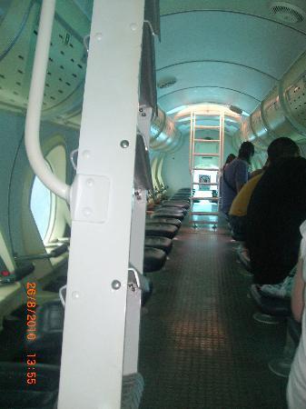 San Miguel de Abona, Spanje: Das U-Boot von innen
