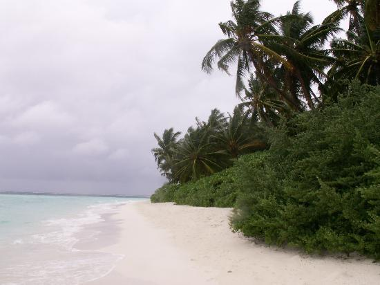 Biyadhoo Island Resort: our beach