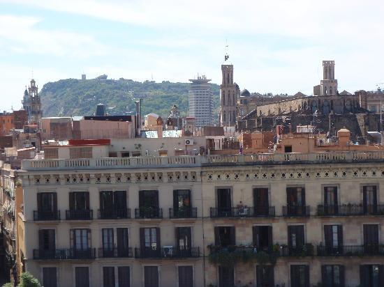 Inside Barcelona Apartments Mercat: The view