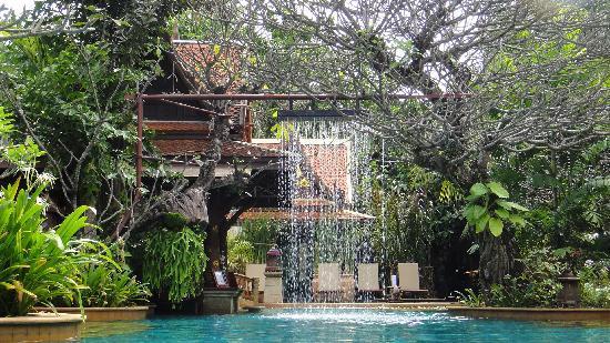 very beautiful swimming pool