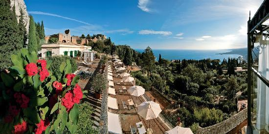 Belmond Grand Hotel Timeo: Panoramic Views from the hotel