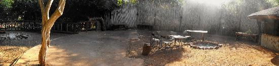 Zululand Tree Lodge : The eating area