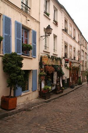 just a street in paris