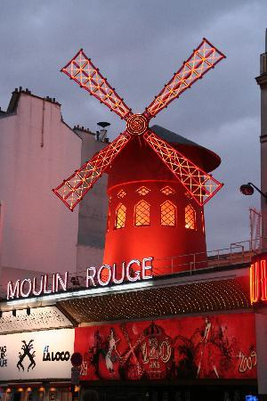 Paris, Frankrike: moulin rouge