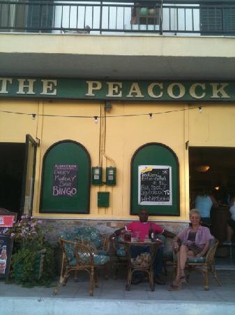 The Peacock Pub: the only british pub in crete