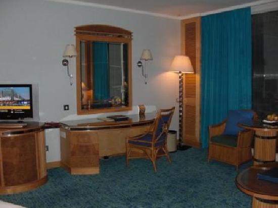 Jumeirah Beach Hotel: sehr schönes und großes Zimmer