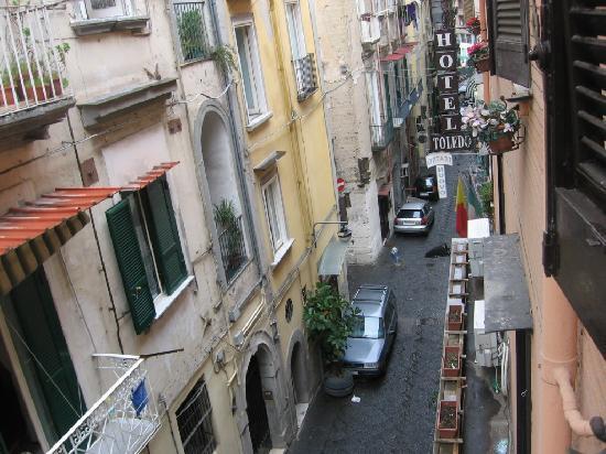 Hotel Toledo: Eindruck von der Strasse