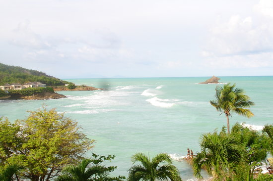 Antigua: The view from my balcony
